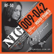 Encordoamento Guitarra Nig 009 Roger Franco