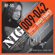 Encordoamento Guitarra Nig 009 Roger Franco