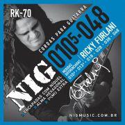 Encordoamento Guitarra Nig 010 Ricky Furlani