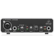 Interface de Áudio Behringer U-Phoria UMC22 USB
