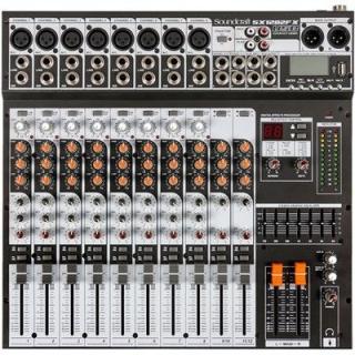 Mesa De Som 12 Canais USB SX-1202 FX USB