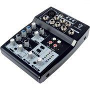 Mesa de Som Hayonik HMX-105 USB Mixer 5 Canais