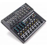 Mesa De Som Mackie Compacta 12 Canais MIX-12 FX