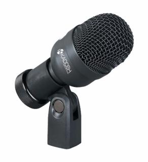 Microfone com Fio Kadosh K 33 Slim de Bumbo e Percussão
