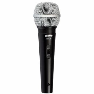 Microfone Shure SV100 Dinâmico de Mão