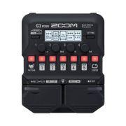 Pedal Zoom G1 Four para Guitarra com Multi Efeitos