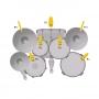 Kit de Microfone Akg Drum Set Session I para Baterias