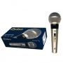 Microfone com Fio Dylan DLS 8 com Chave Dinâmico Profissional Cabo 3 Metros