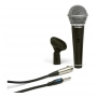 Microfone com Fio Samson R21S Dinâmico Profissional