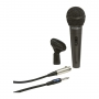 Microfone com Fio Samson R31S Dinamico Hipercardioide com Chave Lig/Des e Cabo