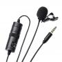 Microfone de Lapela JWL J-M1 para Smartphone com P3 com 6M Cabo