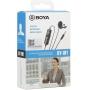 Microfone Lapela Boya By-M1 para Smartphone com Cabo de 6 Metros