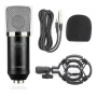 Microfone Studio Knup KP-M0021 Cabo P2 Acompanha Aranha