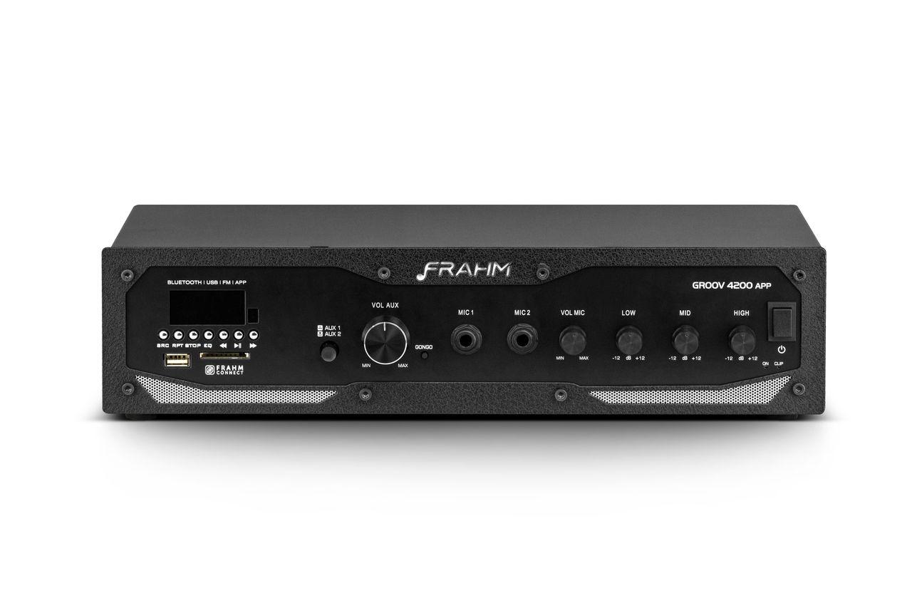 Amplificador de Áudio Frahm GR 4200 APP 400 Watts RMS