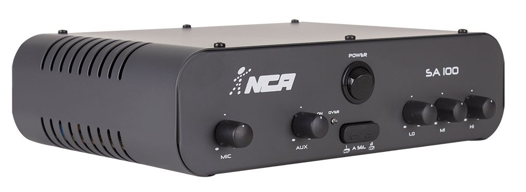 Amplificador de Áudio NCA SA100 Mono 100 Watts RMS