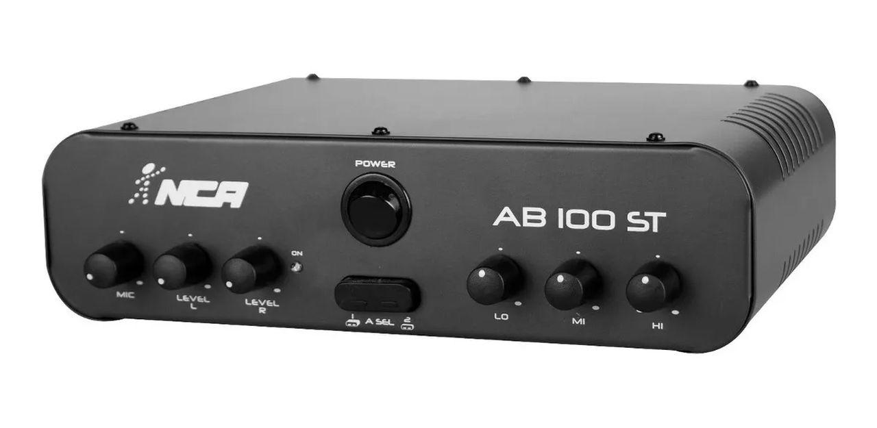 Amplificador de Áudio NCA SA100ST Estéreo 60 Watts RMS Bivolt