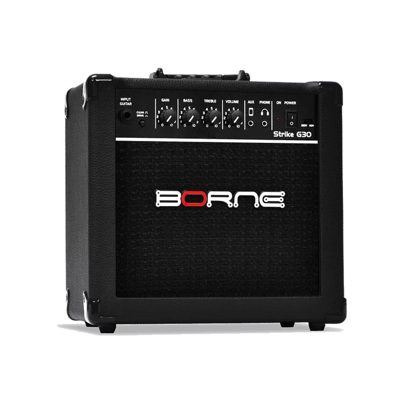 Amplificador de Guitarra Borne Strike G30 15 Watts RMS