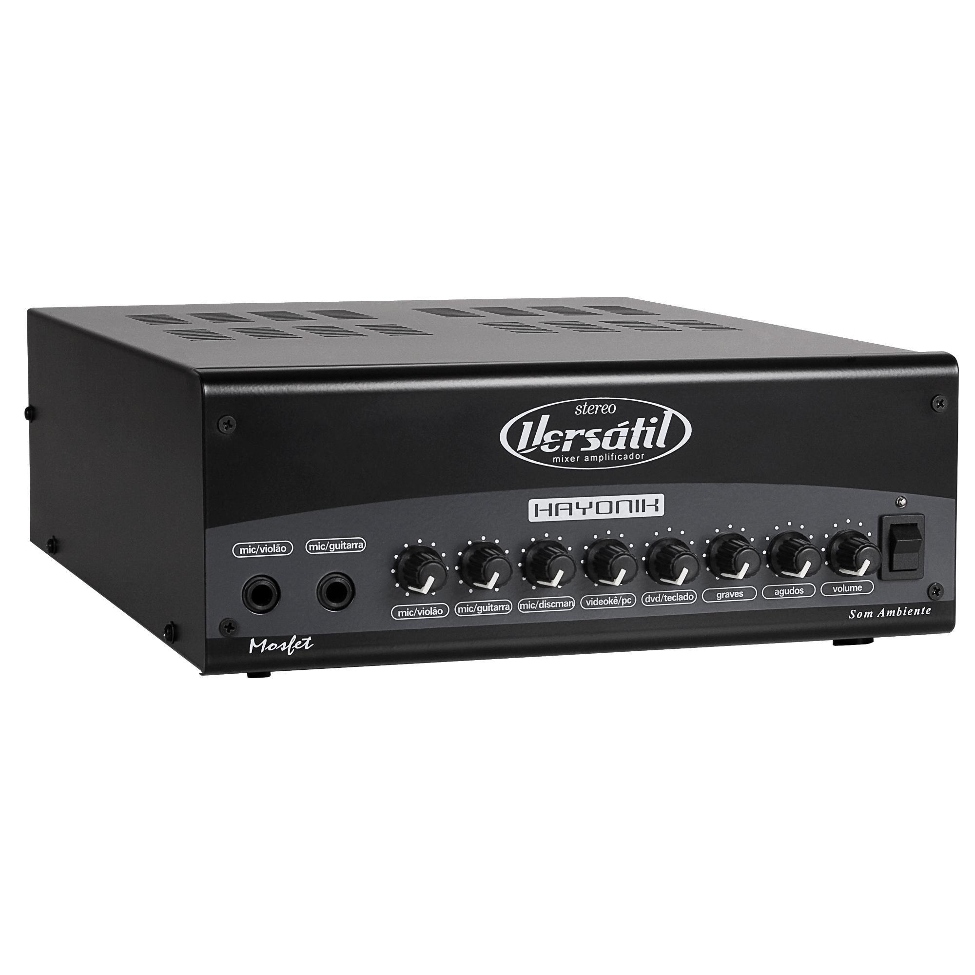 Amplificador Hayonik Versatil Stereo 180W