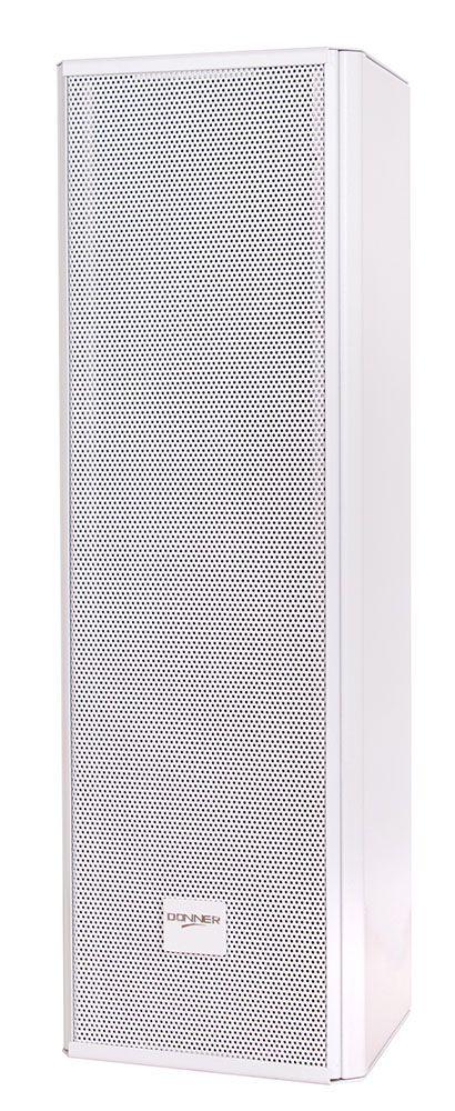 """Caixa Acústica 4"""" Passiva Donner Torre 4x4 C425 Branca Unitário"""