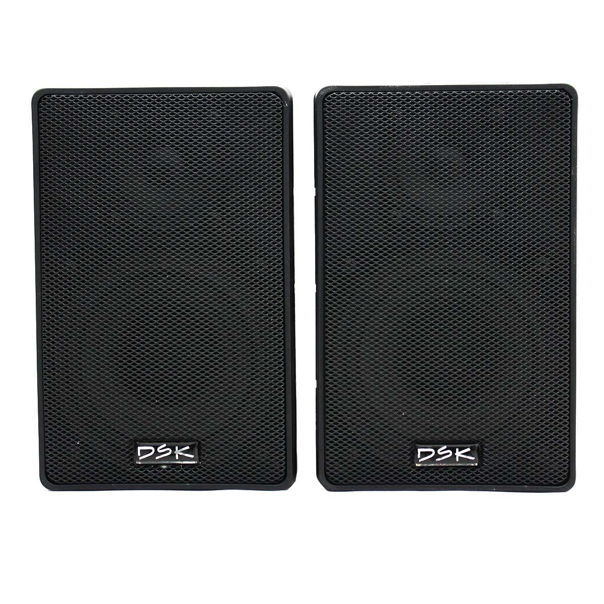 """Caixa Acústica 4"""" Passiva DSK DSK-1500 30W Preto Unitário"""