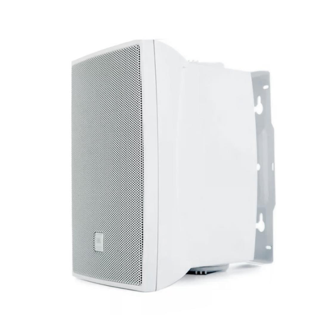 """Caixa de Som Acustica 6"""" 50W JBL C621 Branca (PAR) com suporte"""