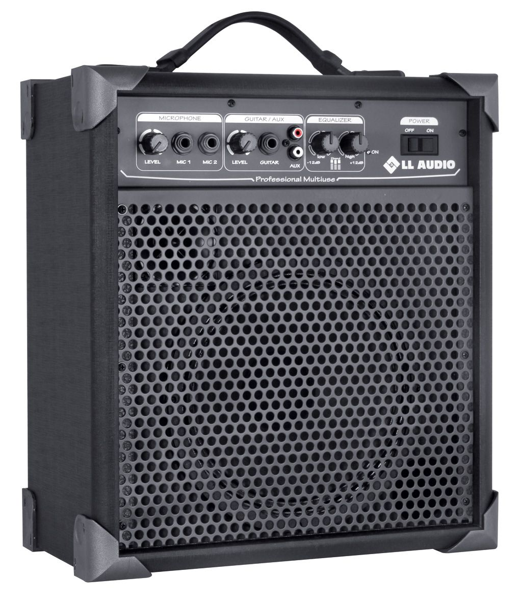 "Caixa Amplificada Multi uso 8"" 15W LL LX60 Bivolt"