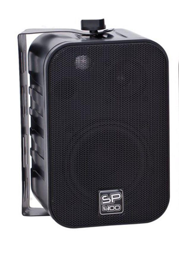 """Caixa De Som Acústica 4"""" SP400 Preto 60W (PAR)"""