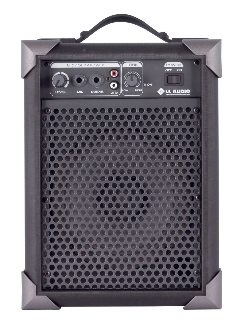 Caixa de Som Multiuso Amplificada LL AUDIO LX40 10W RMS