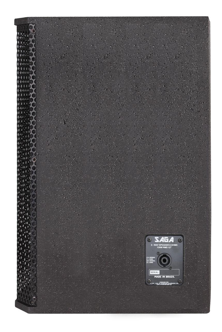 "Caixa de Som Passiva Donner 12"" SAGA 130 Watts RMS SAGA12P 2V TI"