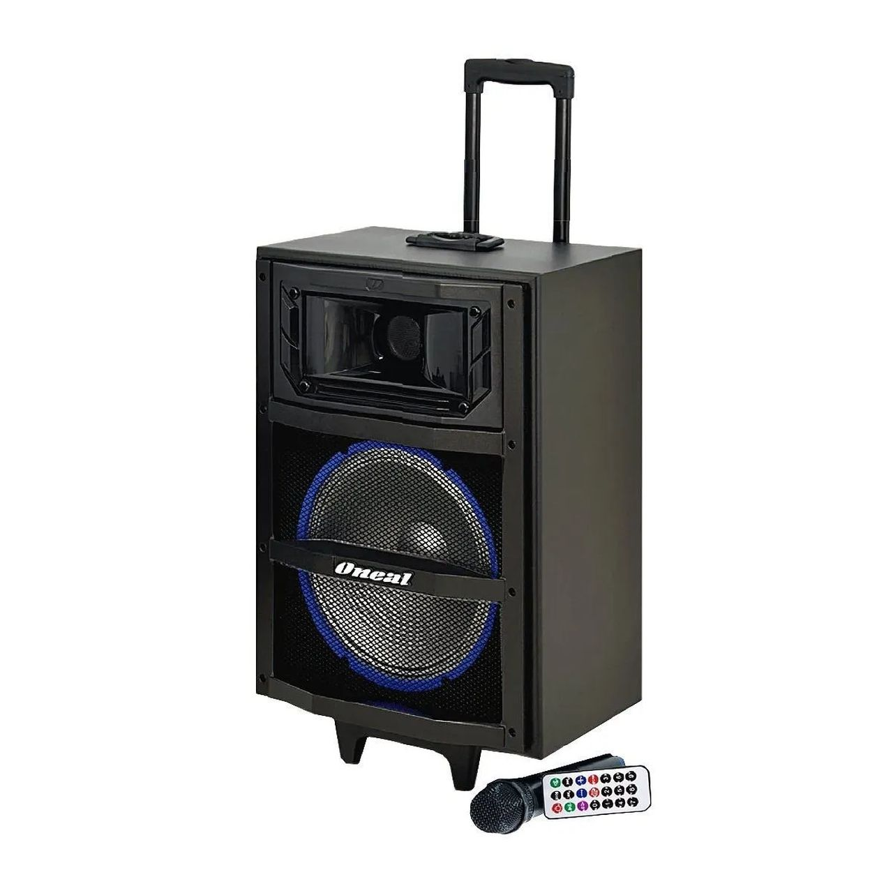 "Caixa Multiuso Ativa Oneal 120W RMS 10"" USB e Bluetooth OCM3910MH"