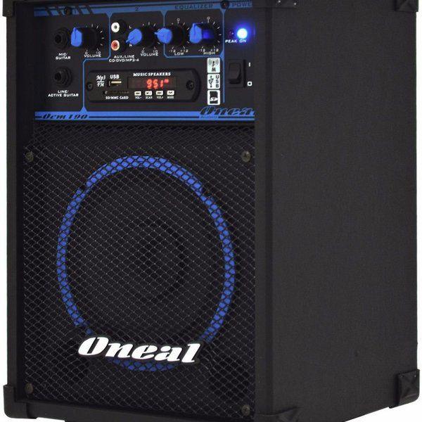 "Caixa Multiuso Ativa Oneal 40W RMS 6"" OCM 190 USB FM"