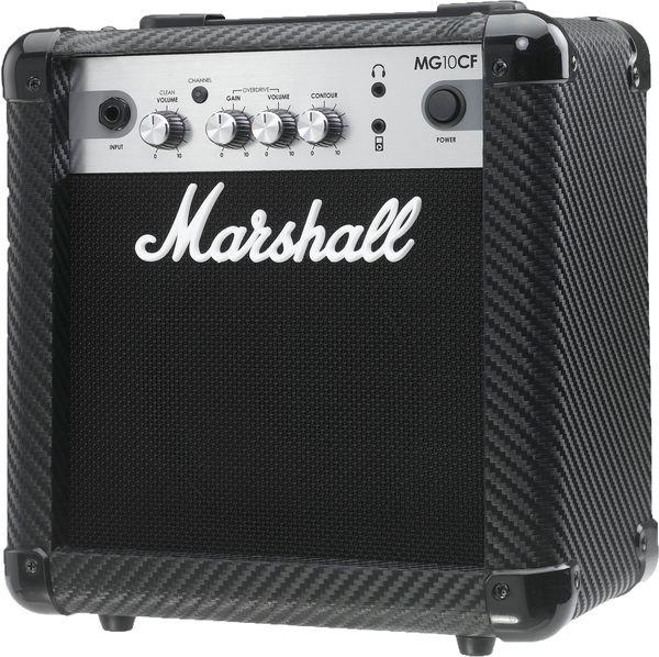 Cubo Guitarra Marshall MG 10 CF Carbon Fiber