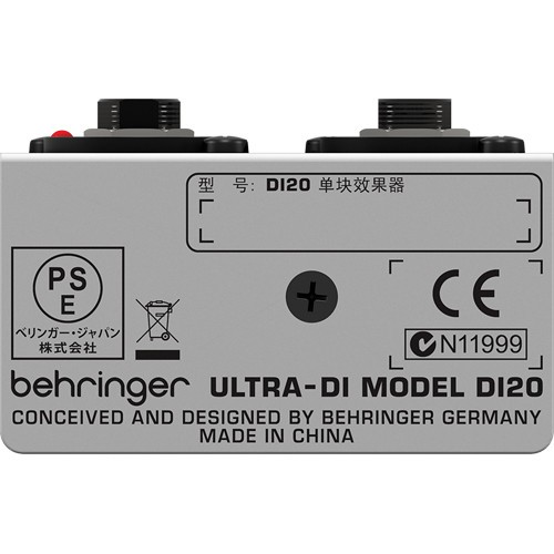 Direct Box Ativo Behringer DI 20
