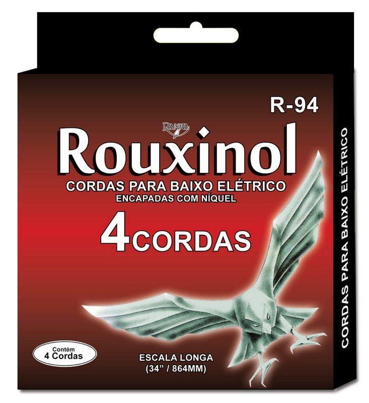 Encordoamento Contrabaixo 4 Cordas Rouxinol .043-.091 R-94