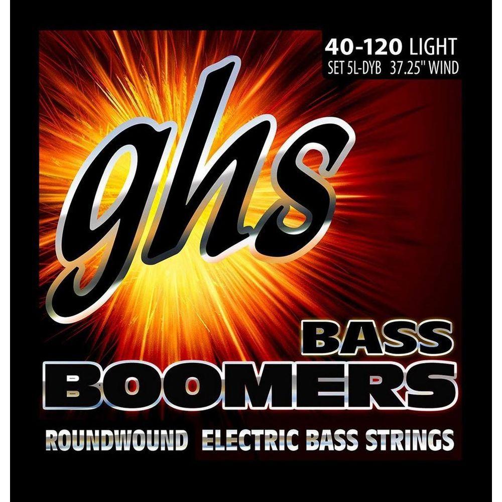 Encordoamento Contrabaixo 5 Cordas GHS .040-.120 Bass Boomers