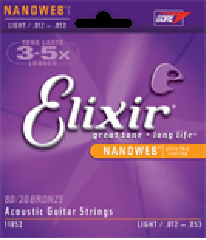 Encordoamento Elixir Nanoweb  Violão 011