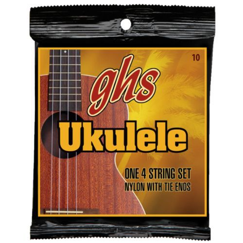 Encordoamento Nylon Ukulele GHS with Tie 10