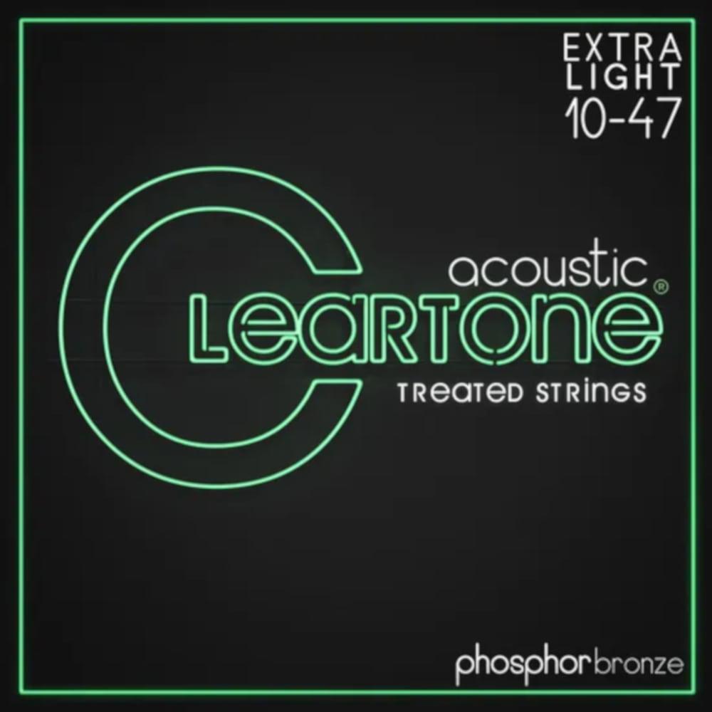 Encordoamento Violão Aço Cleartone .010-.047 Phospohorbronze Extra Light