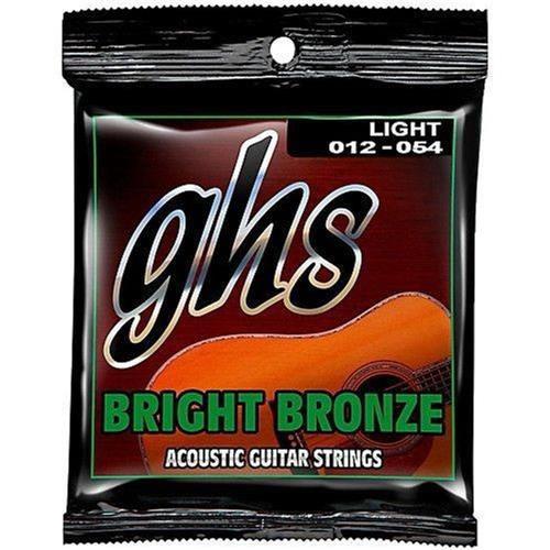 Encordoamento Violão Aço GHS Bright 012 Bronze BB30L