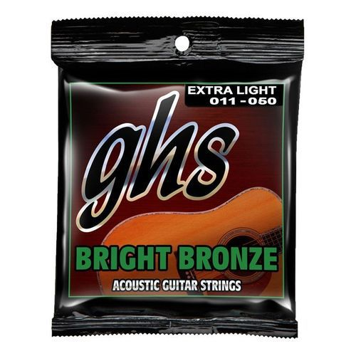 Encordoamento Violão Aço GHS Bright 011 Bronze BB20X