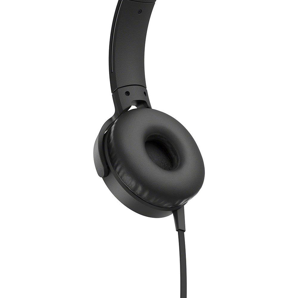 Fone de Ouvido Sony Headphone com Extra Bass Preto MDR XB550AP