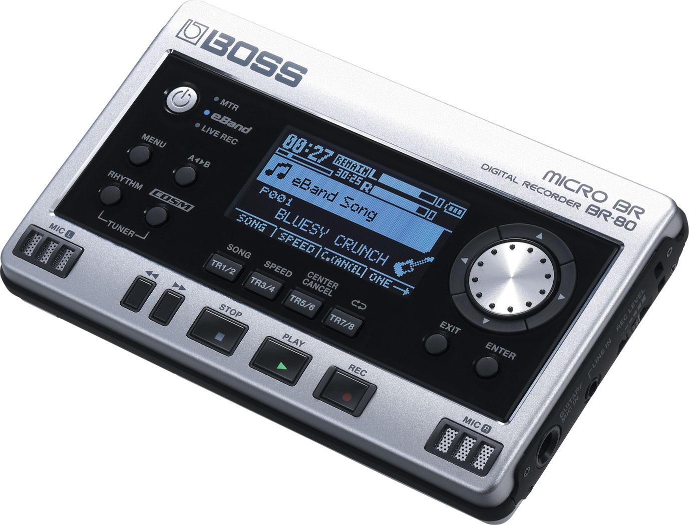 Gravador Digital Boss Micro BR-80