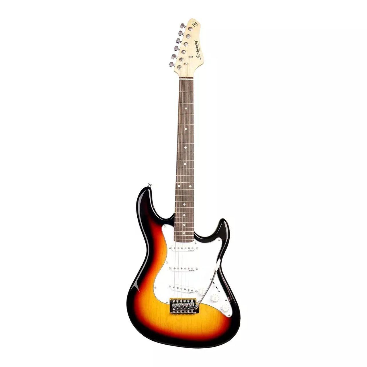 Guitarra Elétrica Strinberg Strato EGS216 Sunburst