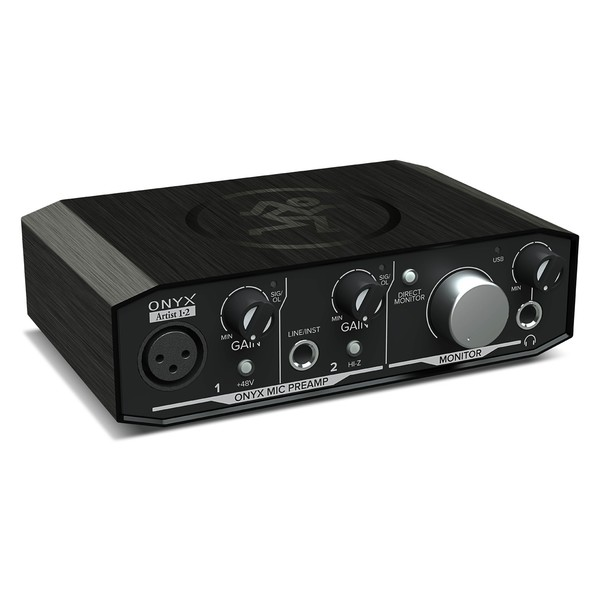 Interface de Áudio Mackie Onyx Artistic 1•2 USB