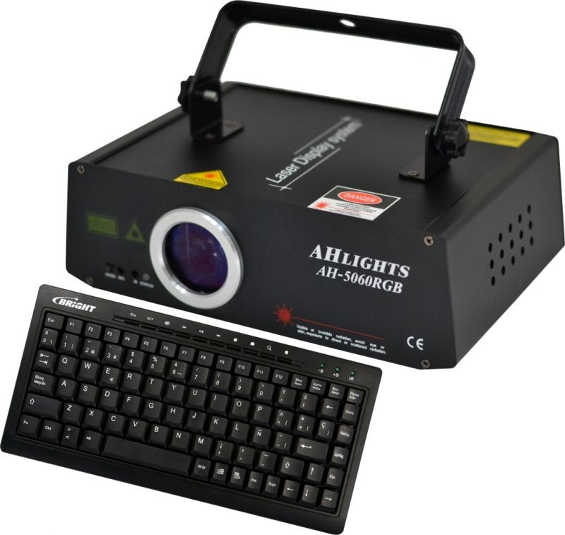 Laser Blue com Teclado AH Light HA5060B 120V / 240V