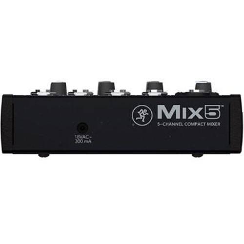 Mesa De Som 5 Canais MIX-5 Mackie