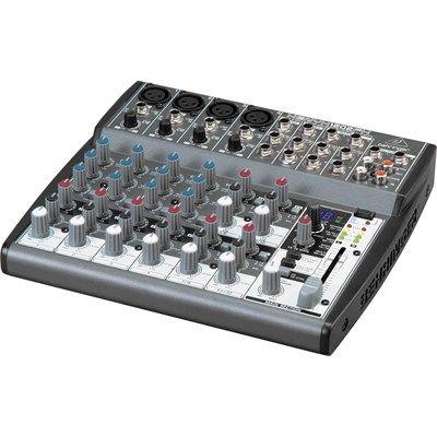 Mesa de Som Mixer Behringer Xenyx 1202FX 12 Canais 4 XLR 110V