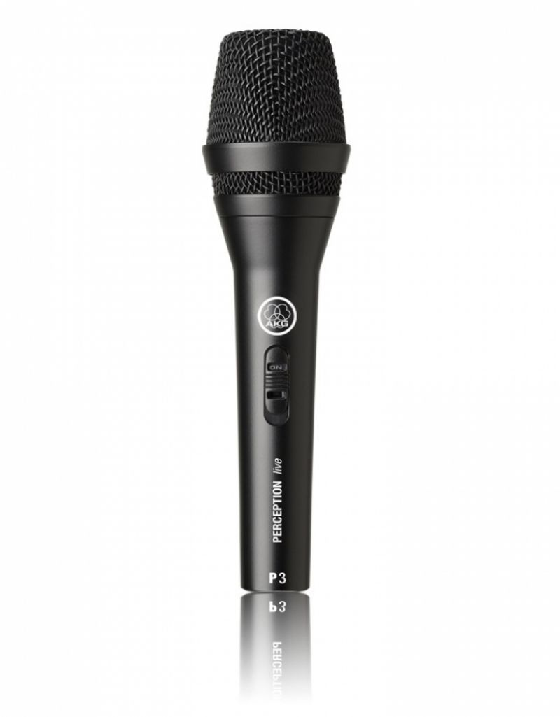 Microfone AKG Vocal Perception P-3 S de Mão