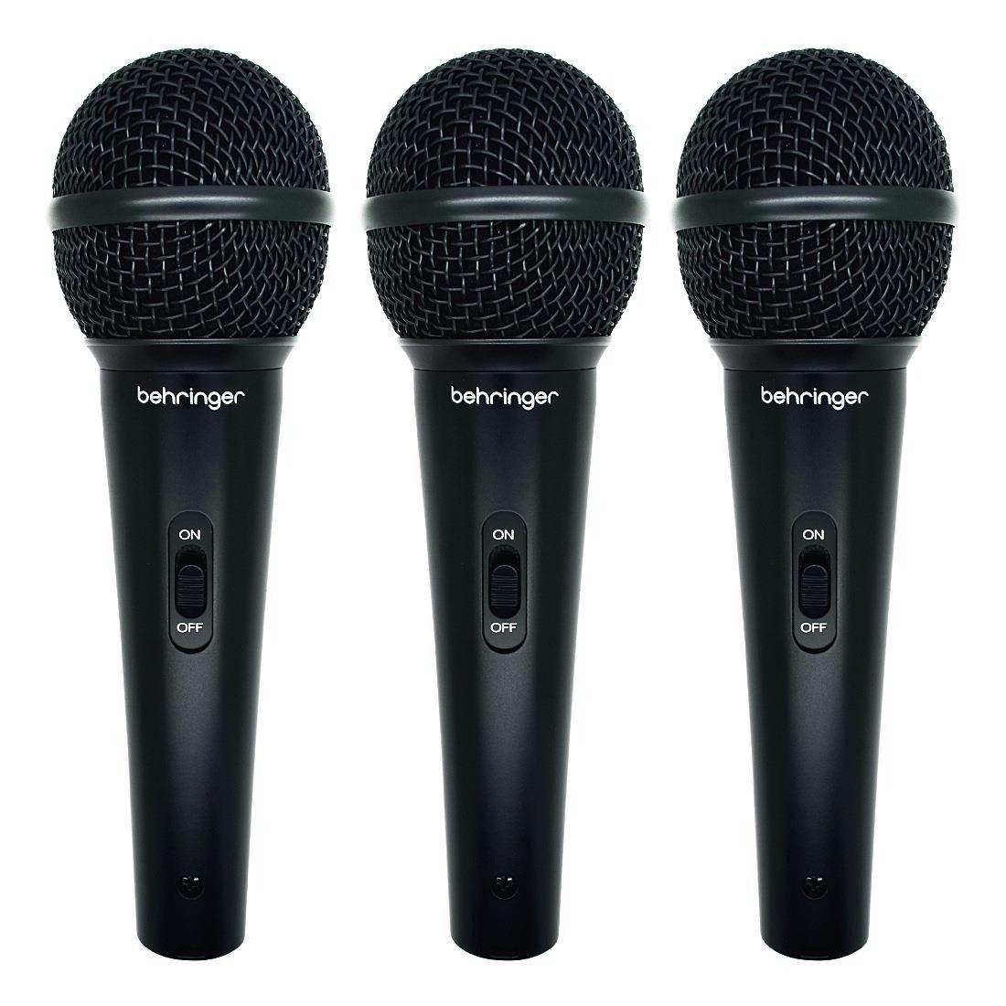 Kit Behringer com 3 Microfones XM-1800S