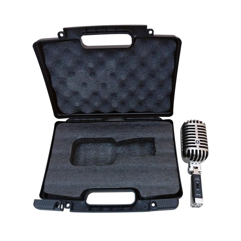 Microfone com Fio Kadosh K-36 Cardioide Estilo Vintage